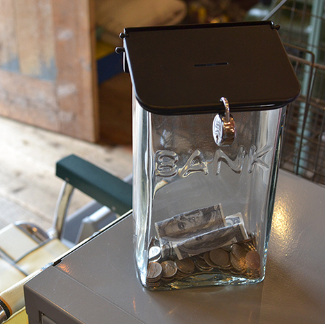 【Lowis Industry】Lowis Glass Coin Bank