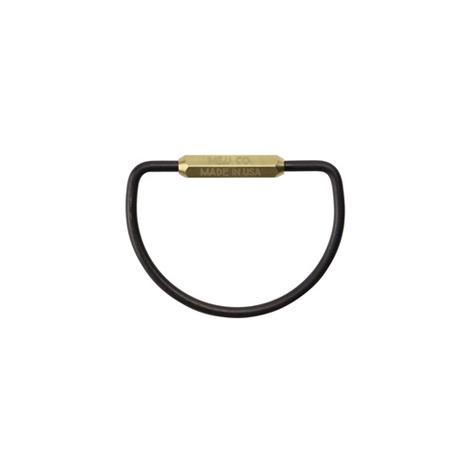 【M&U Co.】D-shape Key Ring