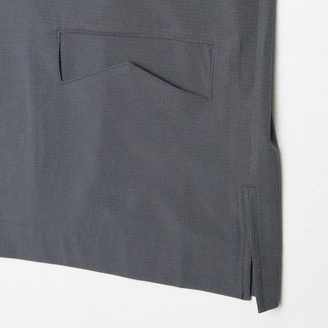 【quolt】HYKE ZIP-SHIRTS