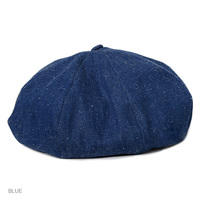 【GO HEMP】FRENCH BERET/SLUB NEP 11oz DENIM