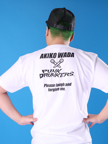 【PUNK DRUNKERS】x和田アキ子 アッコTEE