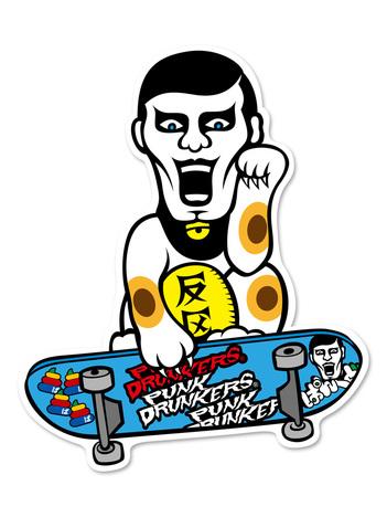 【PUNK DRUNKERS】あいつフォーチューン ステッカー