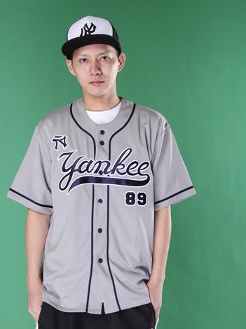 【PUNK DRUNKERS】元ヤンベースボールシャツ