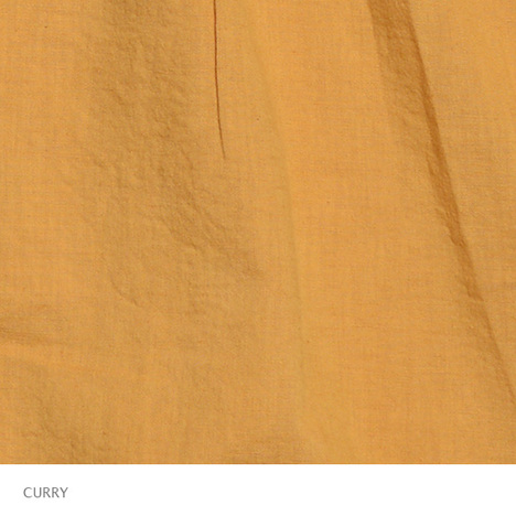 【GO HEMP】MEDITATION SHIRTS/HEMP COTTON GAUZE(earth color dyed)