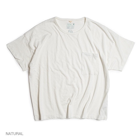 【GO HEMP】 WIDE PK TEE