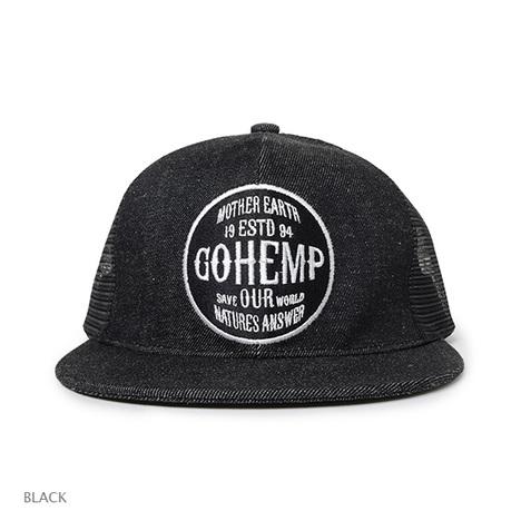 【GO HEMP】GOHEMP LOGO MESH CAP