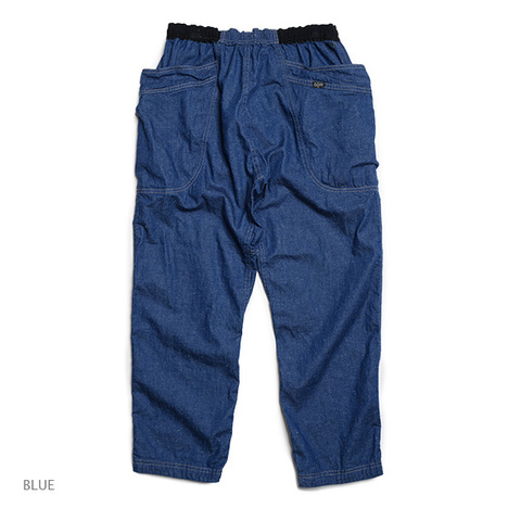 【GO HEMP】VENDOR CHILL PANTS/SLUB NEP 8oz DENIM