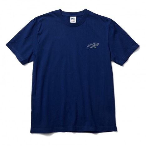 【CLUCT】S/S TEE EMB ROSE