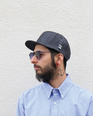 【quolt】DENIM CAP
