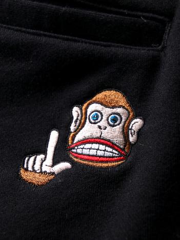 【PUNK DRUNKERS】猿Lスウェットショーツ