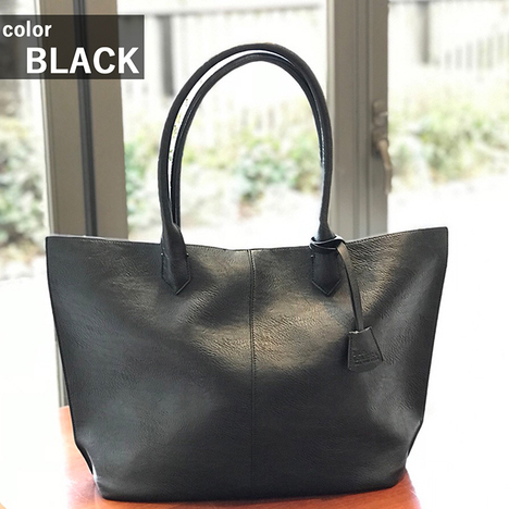 【 Mr.CARRY】SYNTHETIC LEATHER TOTE BAG
