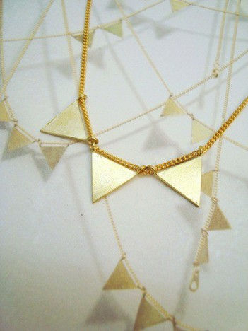 【Aquvii】Pennant Necklace