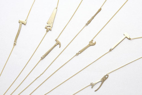 【Aquvii】Tools Necklace (ペンチ)