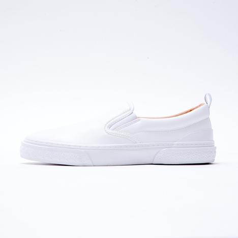 【SLACK FOOTWEAR】CALMER LX SLIP-ON (WHITE/WHITE)