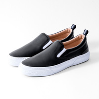 【SLACK FOOTWEAR】CALMER LX SLIP-ON (BLACK/WHITE)