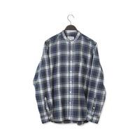 【SONTAKU】 60/2シャギータータンバンドカラーシャツ