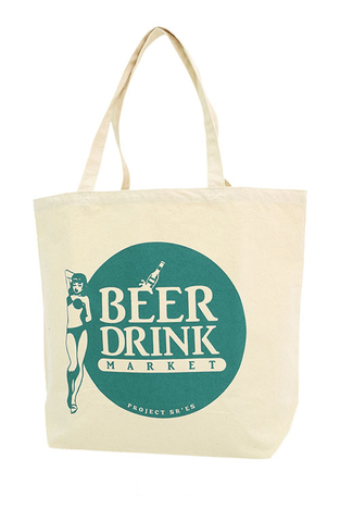 【SALE30%OFF★PROJECT SR'ES】BEER MARKET TOTE