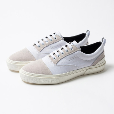 【SLACK FOOTWEAR】RECENT(WHITE/GRAY/WHITE)
