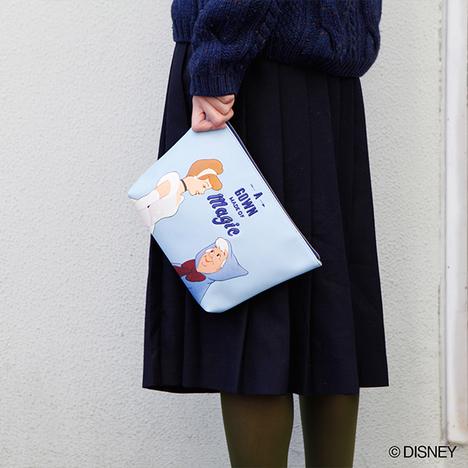 【ACCOMMODE×DISNEY】ディズニー/モーメントビッグポーチ