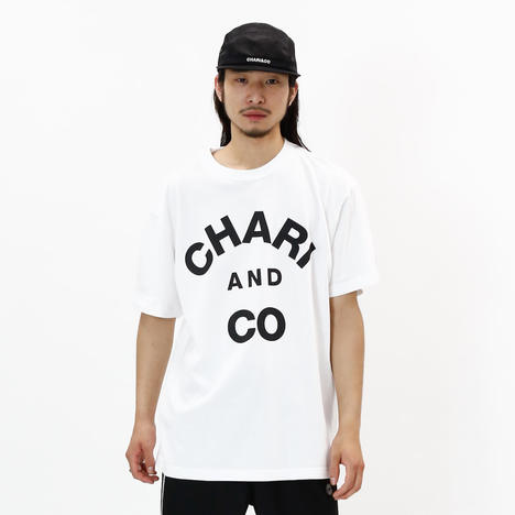 【CHARI&CO】COLLEGE LOGO TEE