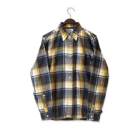 【SONTAKU】30/2シャギーチェックBDシャツ