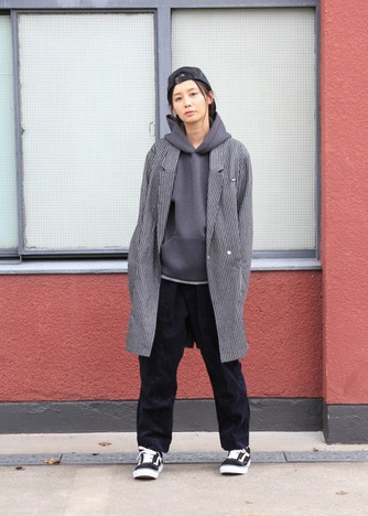 【quolt】BONDING-AIR PARKA