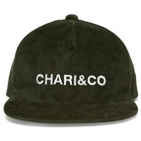 【CHARI&CO】CORDUROY SNAPBACK(DARK GREEN)
