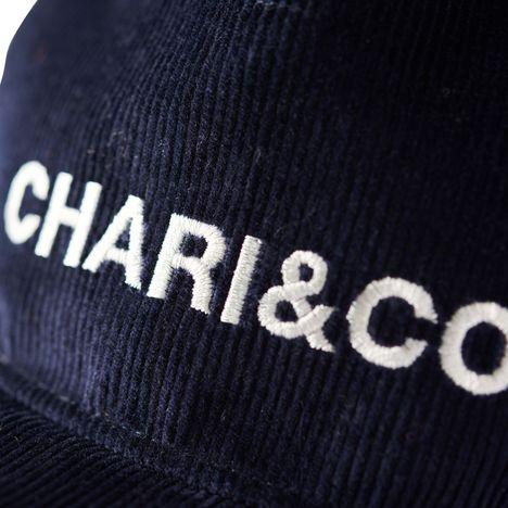 【CHARI&CO】CORDUROY SNAPBACK(NAVY)