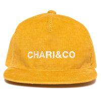 【CHARI&CO】CORDUROY SNAPBACK(MUSTARD)
