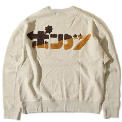 【ALDIES】Jalopy Wide Sweat(OATMEAL)