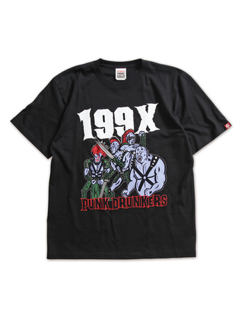 【PUNK DRUNKERSx北斗の拳】199X.TEE(復刻シリーズ)