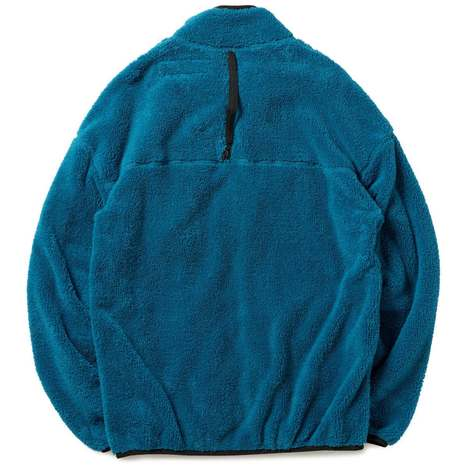 【CHARI&CO】FLEECE BOA CARDIGAN(BLUE)