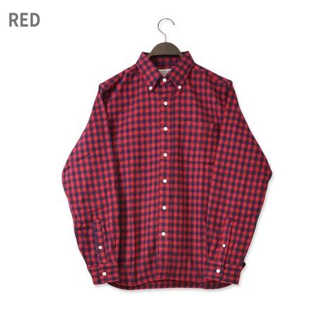 【SONTAKU】30/2シャギーギンガムBDシャツ