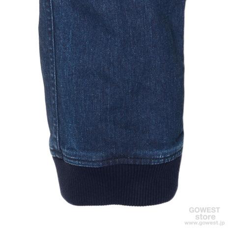 【GO HEMP】SLIM RIB PANTS