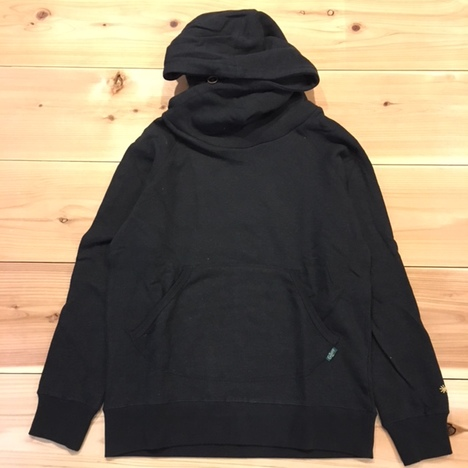 【GO HEMP】SHAWL HOODY/H/C FLEECE