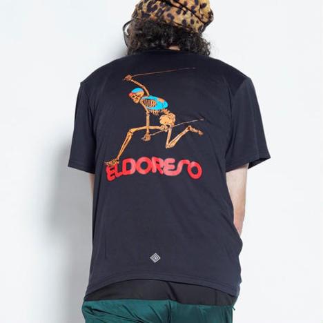【ELDORESO】Jump! Born Runman T(Black)