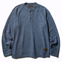 【CLUCT】HENRYNECK KNIT SEW