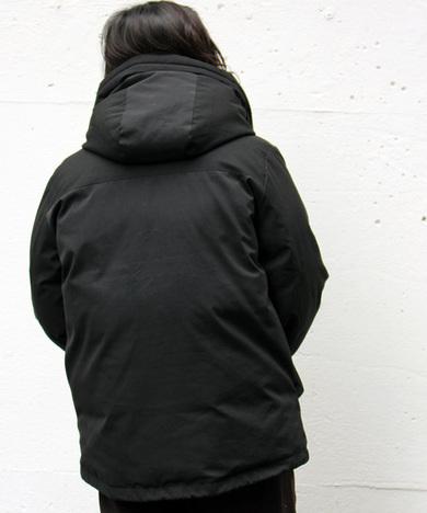 【SCHOTT】2TONE DOWN PARKA / BLACK