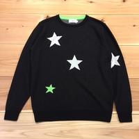 【LiSS】 STAR PATTERN CREWNECK KNIT