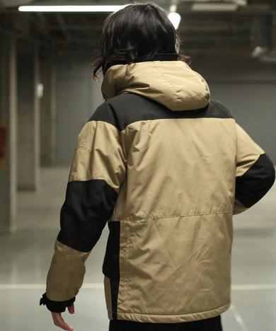 【SCHOTT】2TONE FIELD PARKA