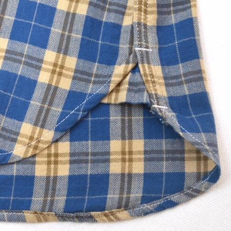 【SONTAKU】ヘリンボーンすっきりワークシャツ