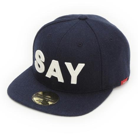 "【SALE30%OFF★SAY】WOOL BASEBALL CAP ""FELT-SAY"""