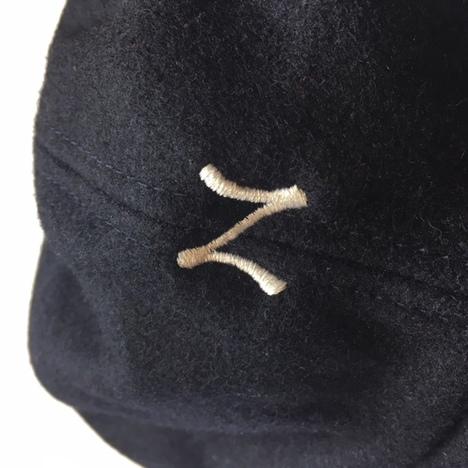 【NO TARGET ORIGINAL】N LOGO WOOL CAP