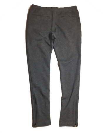 【LiSS】 STRETCH TIGHT ZIP PANTS