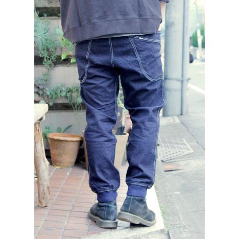 【GO HEMP】VENDOR RIB PANTS/ H/C STRECH DENIM