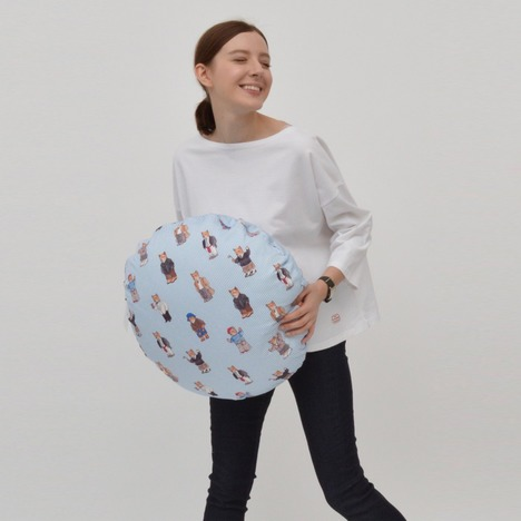 【MACOBER】ドロップショルダー7分袖Tシャツ(FEMME)