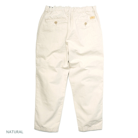 【GOWEST】EG PANTS / 10.5oz COLOR DENIM