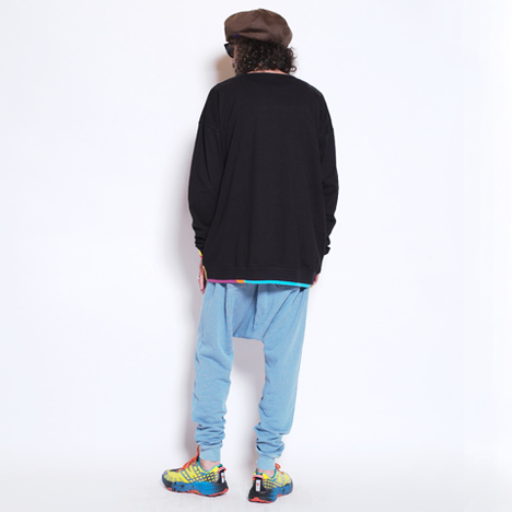 【ALDIES】Rib Switching Long T