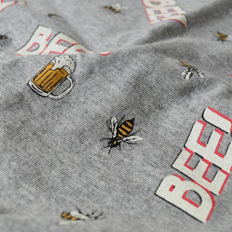 【ALDIES】Bee&Beer Big T