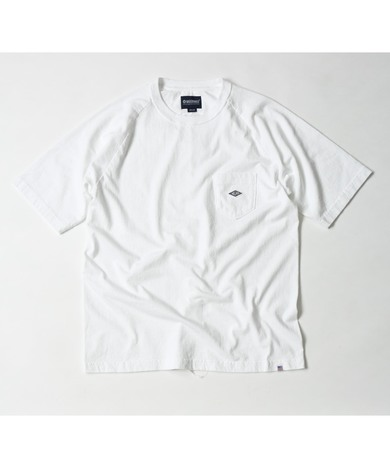 【MAGIC NUMBER】US COTTON RAGLAN POCKET TEE
